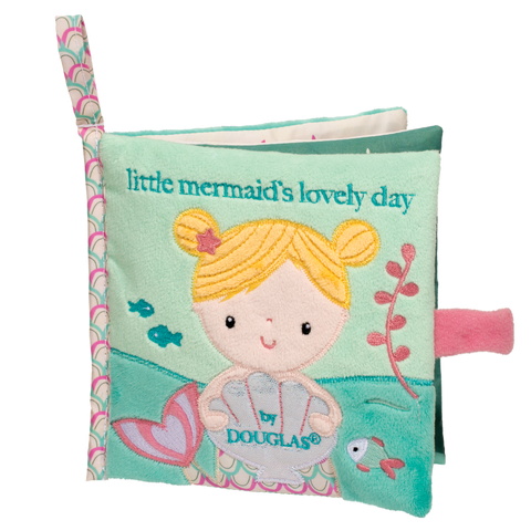 Douglas Baby Mermaid Soft Activity Book
