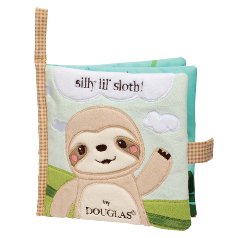 Douglas Baby Sloth Soft Activity Book