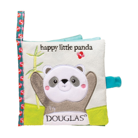 Douglas Baby Happy Little Panda Soft Activity Book 6