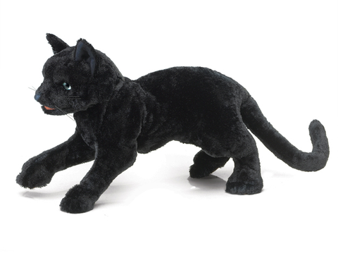 Folkmanis Black Cat