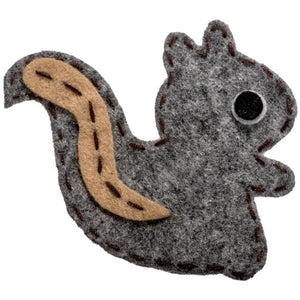 No Slippy Hair Clippy Nellie Silver Squirrel