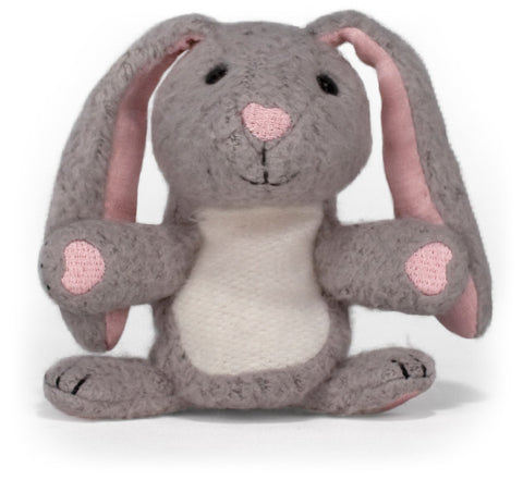 Apple Park Organic Cotton Finger Puppet – Bunny