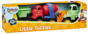 Kidoozie Little Tuffies Construction Trucks