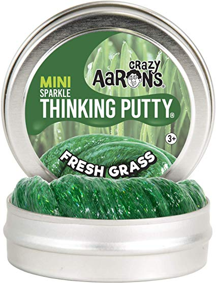 Crazy Aaron's Thinking Putty Easter Mini Fresh Grass