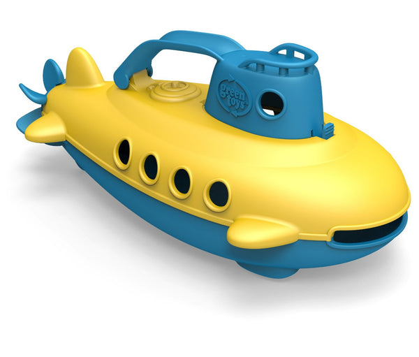 Green Toys Submarine Blue Handle