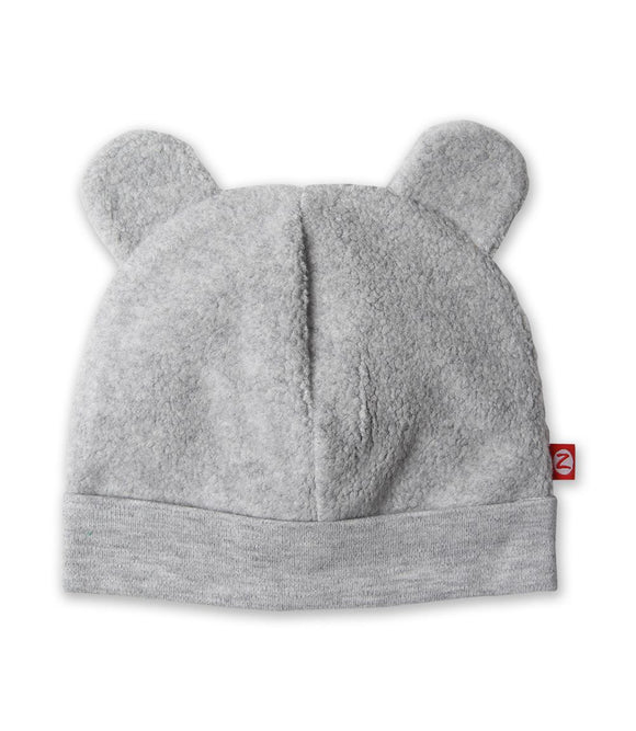 Zutano Baby Cozie Hat Heather Gray