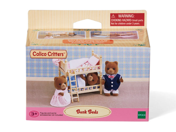 Calico Critters Stack and Play Bunk Beds