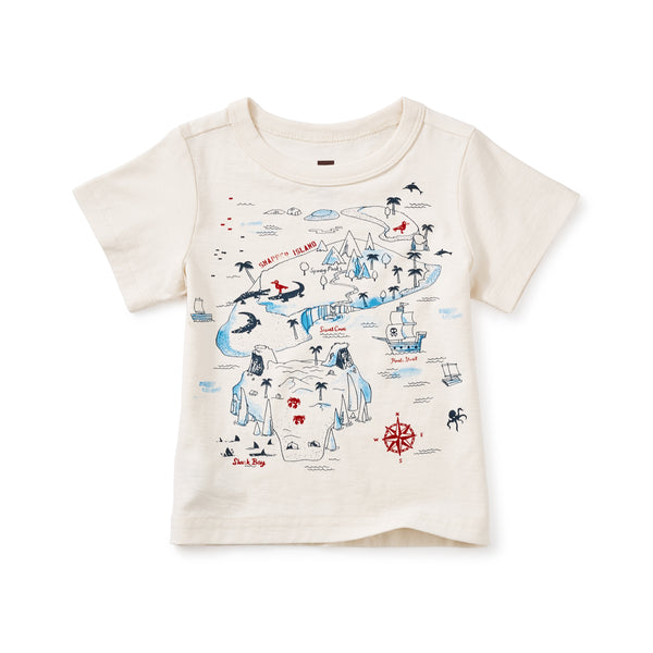 Tea Collection Snapper Island Graphic Baby Tee