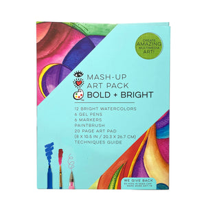 Bright Stripes Mash Up Art Pack - Bold & Bright