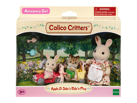 Calico Critters Apple and Jake's Ride 'n Play