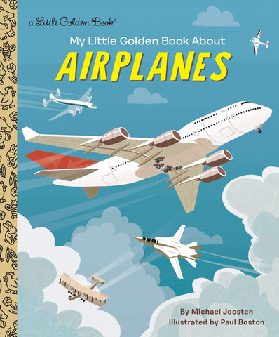 Little Golden Books - About Airplanes