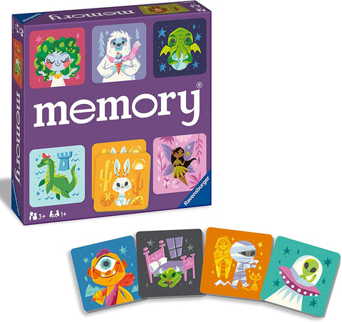 Cute Monsters Memory Game