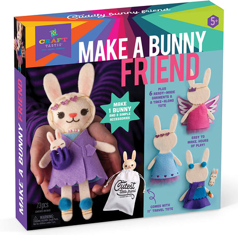 Craft-tastic Make a Bunny Friend