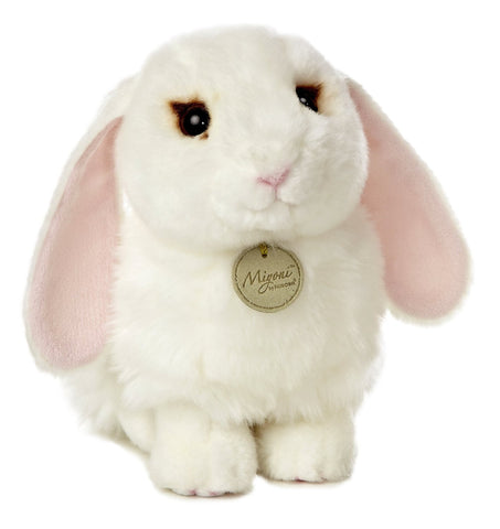 Miyoni by Aurora White Lop Eared Bunny 10""