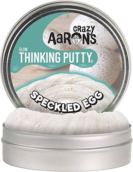 Crazy Aaron's Thinking Putty Easter Mini Speckled Egg
