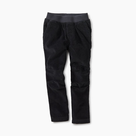 Tea Collection Easy Corduroy Pants Jet Black