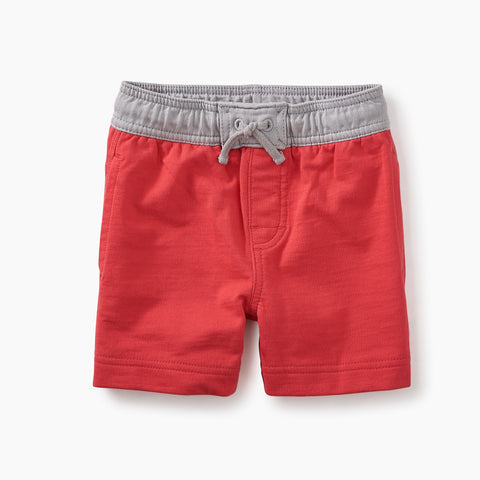 Tea Collection Boardies Baby Surf Shorts Stoplight