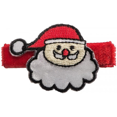 No Slippy Hair Clippy Kringle Red Santa