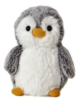 Aurora Mini PomPom Penguin Gray 6