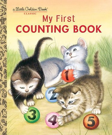 Little Golden Books - My First Counting Book