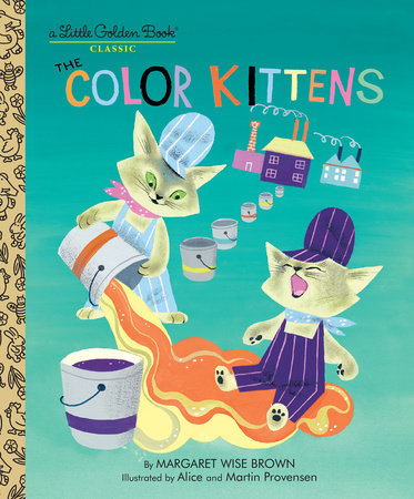 Little Golden Books - The Color Kittens