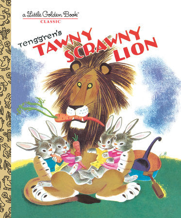 Little Golden Books - Tawny Scrawny Lion