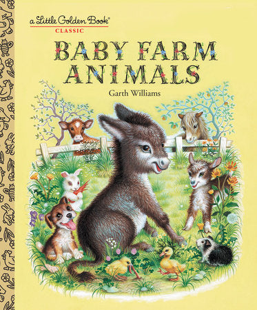 Little Golden Books - Baby Farm Animals