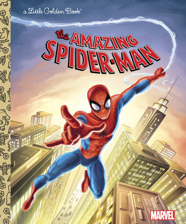 Little Golden Books - The Amazing Spider-Man