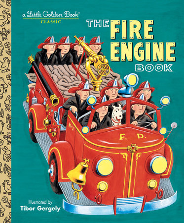 Little Golden Books - The Fire Engine Book