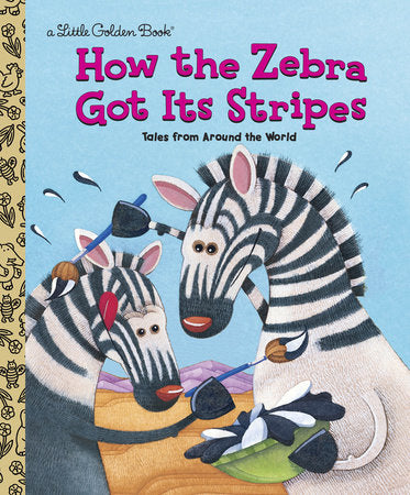 Little Golden Books - How the Zebra Got Its Stripes