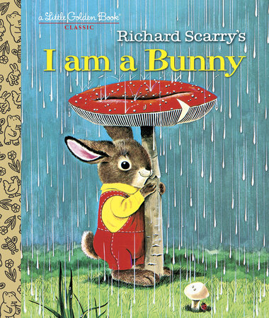 Little Golden Books - Richard Scarry's I am a Bunny