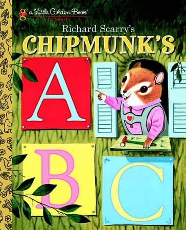 Little Golden Books - Richard Scarry's Chipmunk's ABC