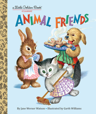 Little Golden Books - Animal Friends