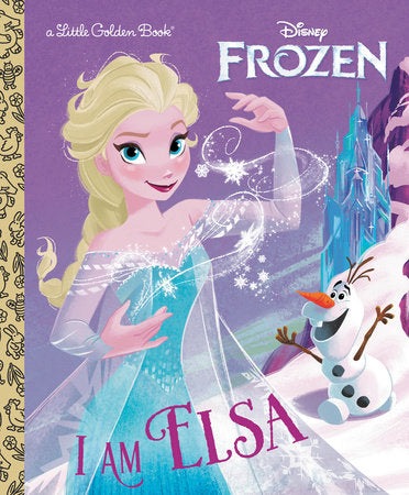 Little Golden Books - Disney's Frozen - I am Elsa