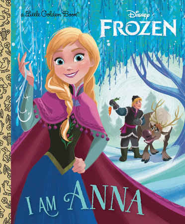 Little Golden Books - Disney's Frozen - I am Anna