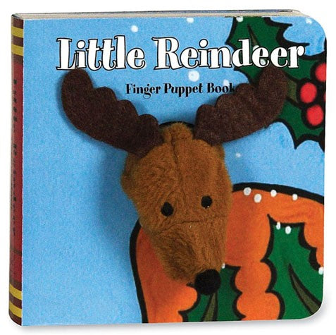 Little Reindeer Finger Puppet Board Book