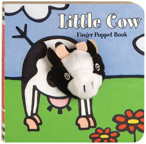 Little Cow Finger Puppet Board Book