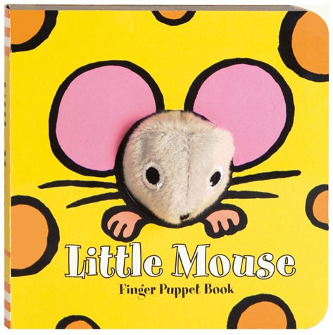 Little Mouse Finger Puppet Board Book