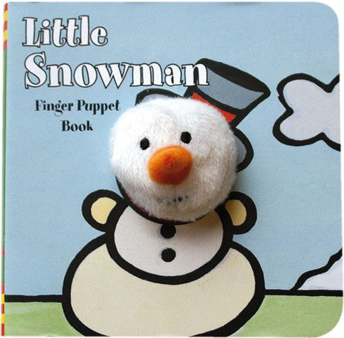 Little Snowman Finger Puppet Board Book