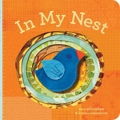 In My Nest Finger Puppet Board Book
