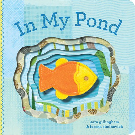 In My Pond Finger Puppet Board Book