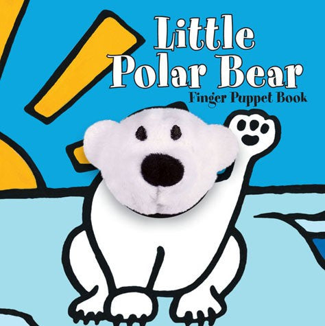 Little Polar Bear Finger Puppet Board Book