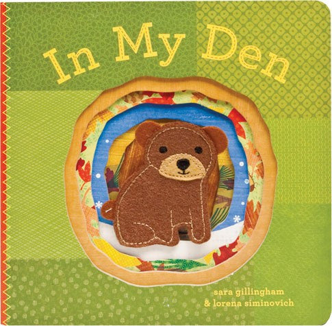 In My Den Finger Puppet Board Book