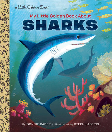 Little Golden Books - My Little Golden Book About Sharks