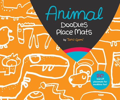 Animal Doodles Place Mats