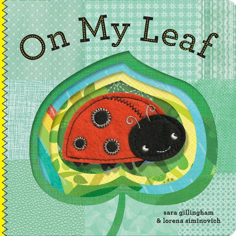 On My Leaf Finger Puppet Board Book