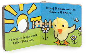 Little Chick Finger Puppet Board Book