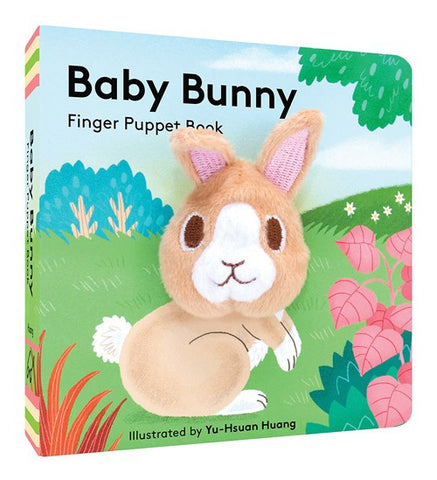 Baby Bunny Finger Puppet Board Book