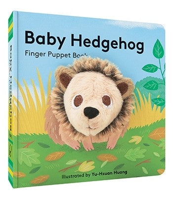 Baby Hedgehog Finger Puppet Board Book