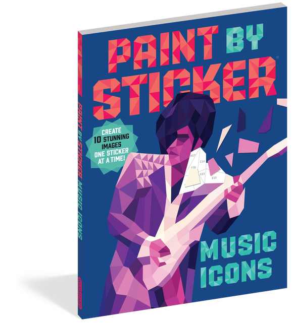 Paint By Sticker Music Icons